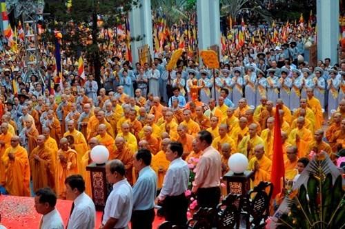 越南一向尊重和保障公民信仰宗教自由权 hinh anh 1