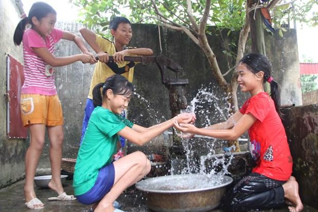 河内市着力满足农村地区生活用水需求 hinh anh 1