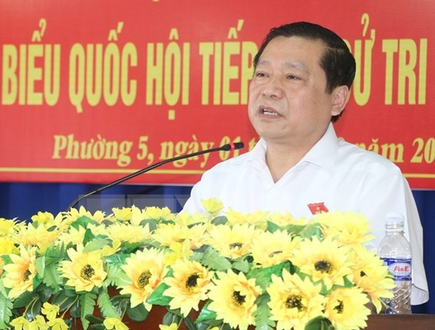 赖春门担任高平省委书记 hinh anh 1