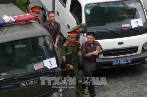 胡志明市人民法院对针对人民政府的恐怖团伙做出判决 hinh anh 1