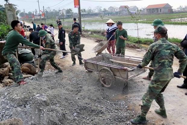 越南共有近2900个乡达到新农村建设标准 hinh anh 1