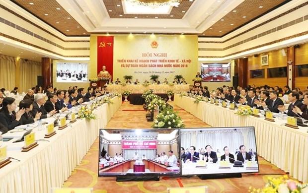 阮春福总理:各地方政府领导要特别关注反腐败工作 hinh anh 1