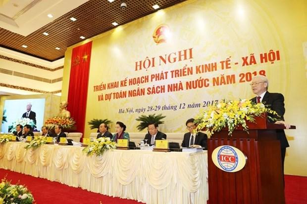 阮春福总理:各地方政府领导要特别关注反腐败工作 hinh anh 3