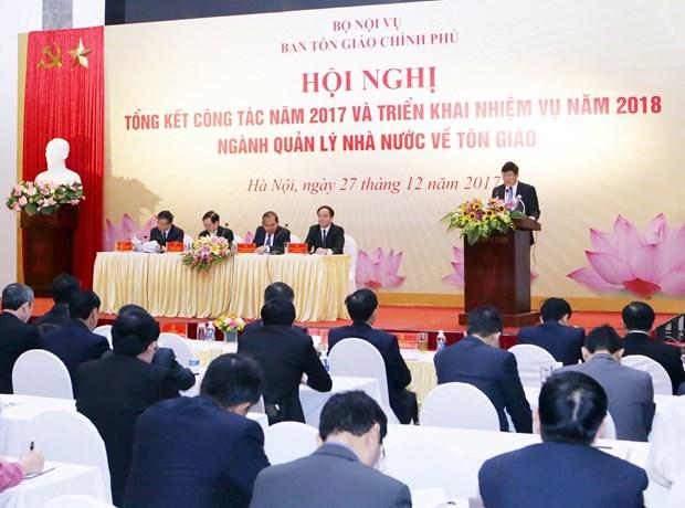 政府副总理张和平:为各宗教依法开展宗教活动创造便利条件 hinh anh 2