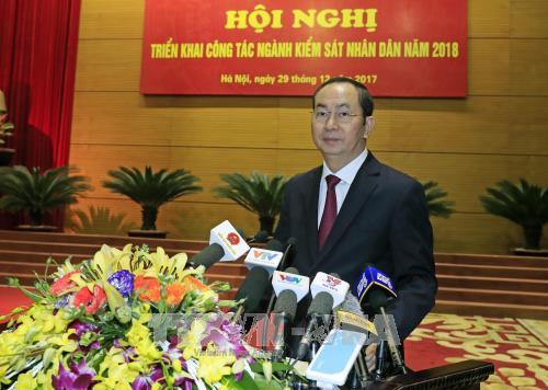 越南最高人民检察院部署2018年工作任务 hinh anh 2