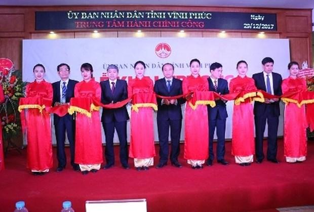 越南永福省公共行政服务中心正式落成 hinh anh 1