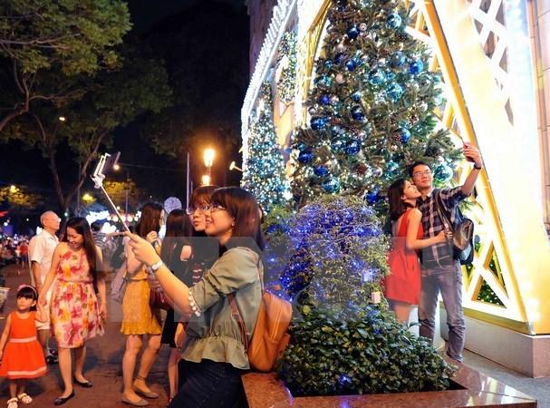 胡志明市开展丰富多彩活动喜迎2018年元旦和春节 hinh anh 1
