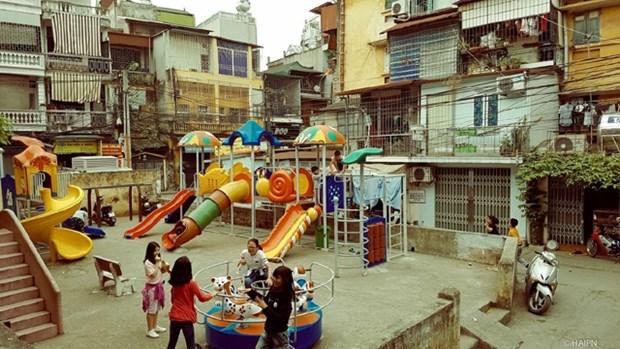 河内的另一面: 都市里的乡邻之情 hinh anh 1