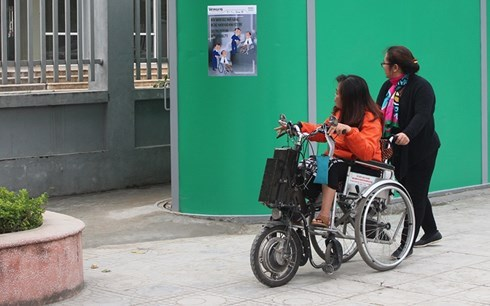 越南残疾人走向世界 hinh anh 1