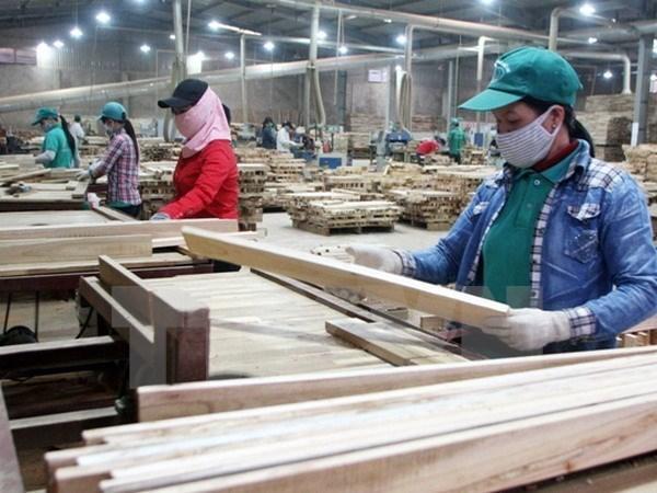 2017年越南木材出口总额超过既定目标 hinh anh 1