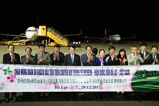 从韩国至越南大叻直达航线试点开通 hinh anh 1
