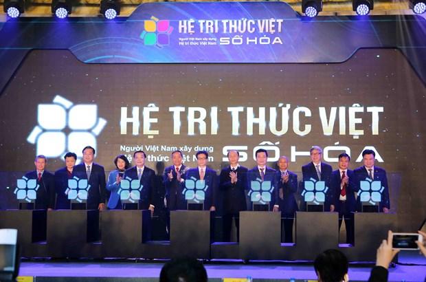 《越南数字化知识体系提案》正式启动 hinh anh 1