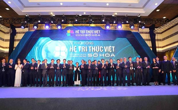 《越南数字化知识体系提案》正式启动 hinh anh 2