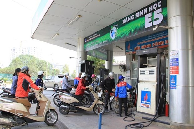 Petrolimex欧五柴油和欧四汽油产品正式问世 hinh anh 1