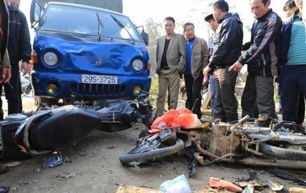 2018年元旦假期越南交通事故死亡人数67人 hinh anh 1