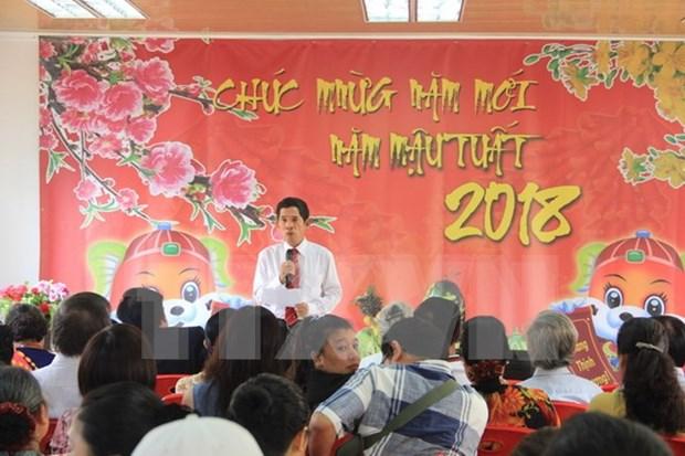 旅居安哥拉越南人喜迎2018新年 hinh anh 1