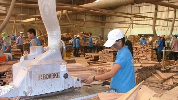 2017年越南林业产品出口额逾80亿美元 hinh anh 1