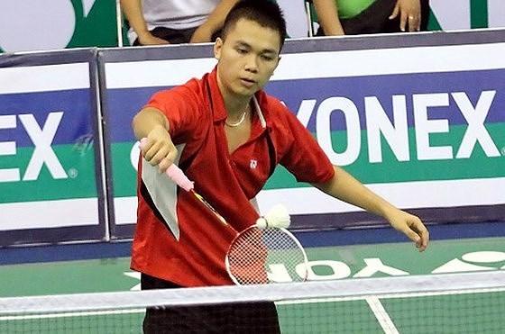越南羽毛球运动员参加2018年泰国羽毛球大师赛 hinh anh 1