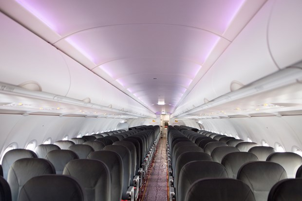 越捷航空公司接收首架A321neo飞机 hinh anh 2
