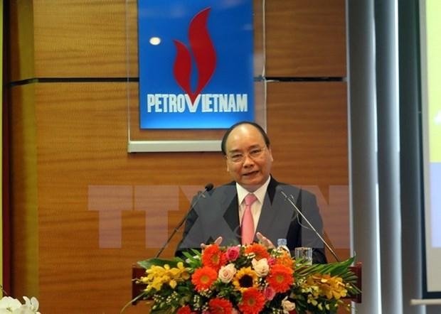 政府总理阮春福:越南油气集团继续有效开展生产经营活动 强化越南主权 hinh anh 1