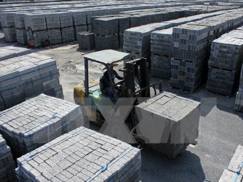 越南努力提高建设工程非烘烤建材利用率 hinh anh 1
