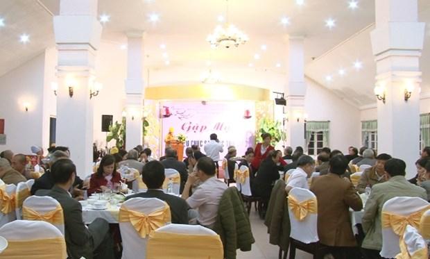 林同省领导会见该省宗教神职人员和信众代表 hinh anh 1
