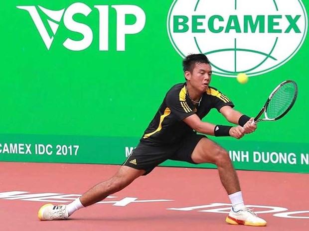 越南网球一哥李黄南位列世界第498位 hinh anh 1