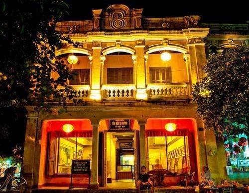 造访会安古市的沙黄文化博物馆 hinh anh 1