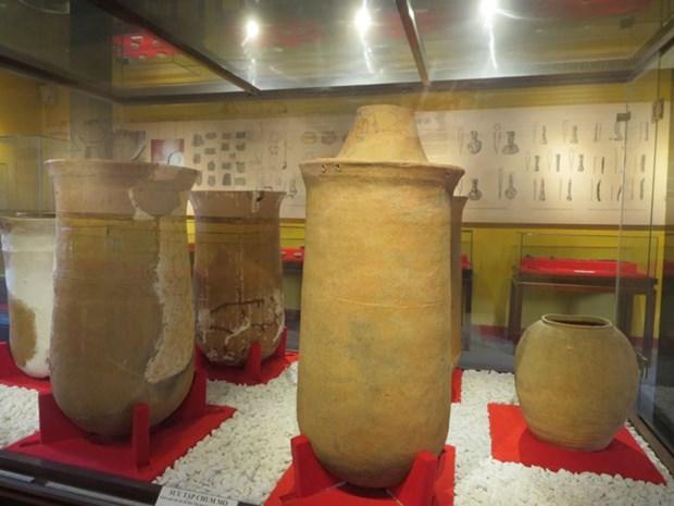 造访会安古市的沙黄文化博物馆 hinh anh 2