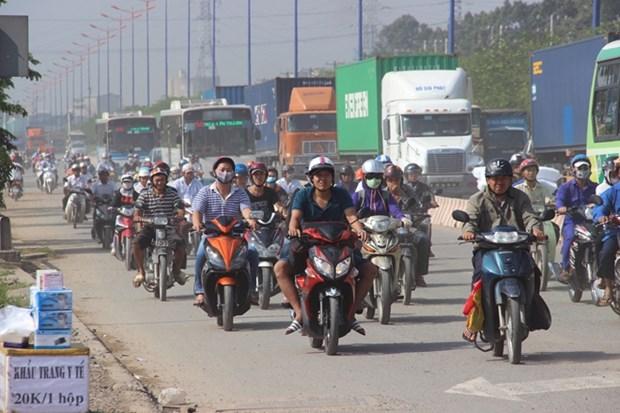 采取措施减少胡志明市大气污染 hinh anh 1