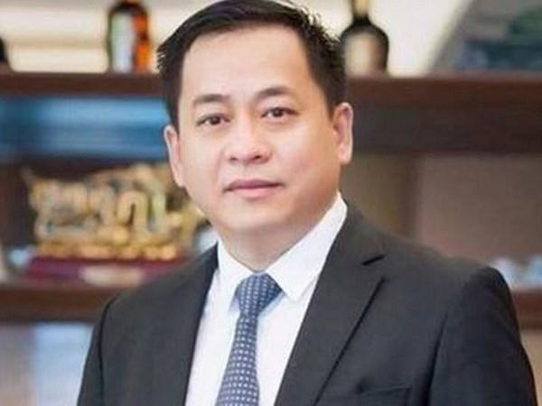 越南公安部抓获被引渡回国的嫌犯潘文英武 hinh anh 1