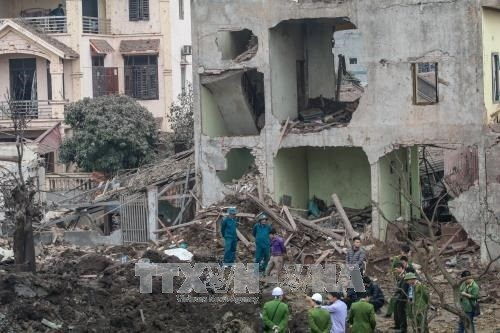 北宁省10人伤亡爆炸案:嫌疑人已被拘留 hinh anh 1