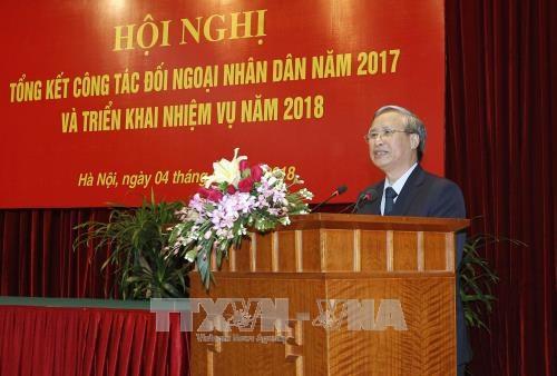 陈国旺:2018年进一步提高民间外交工作效果 hinh anh 2