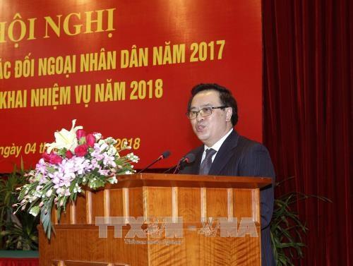 陈国旺:2018年进一步提高民间外交工作效果 hinh anh 3