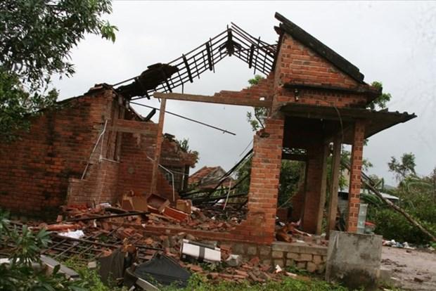 联合国开发计划署协助越南灾民重建房屋 hinh anh 1