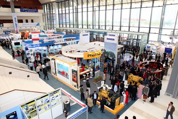 Vietship 2018吸引13个国家的97家造船公司参展 hinh anh 1
