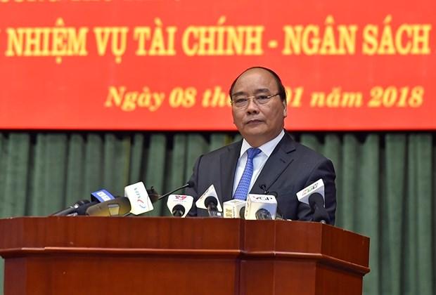 阮春福总理:增强财政政策稳定性让企业放心发展 hinh anh 1