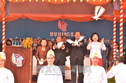 柬埔寨推翻波尔布特种族灭绝政权39周年纪念活动在金边举行 hinh anh 3