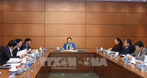 越南国会主席阮氏金银召开亚太议会论坛第26届年会筹备会议 hinh anh 1