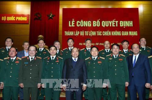 越南政府总理阮春福: 建设一支现代化网络空间作战力量 hinh anh 2