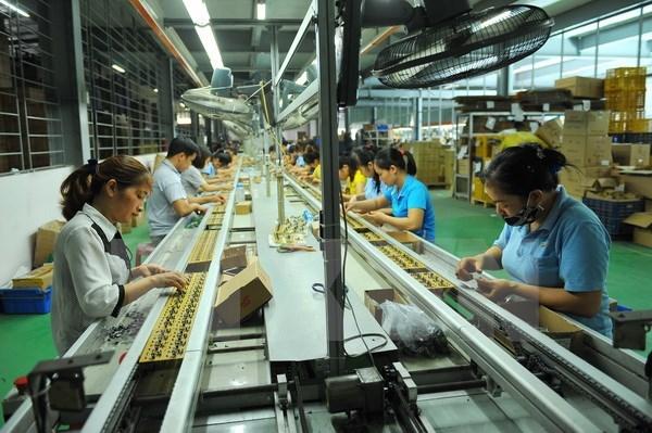 乂安省力争2018年工业生产同比增长16-17% hinh anh 1