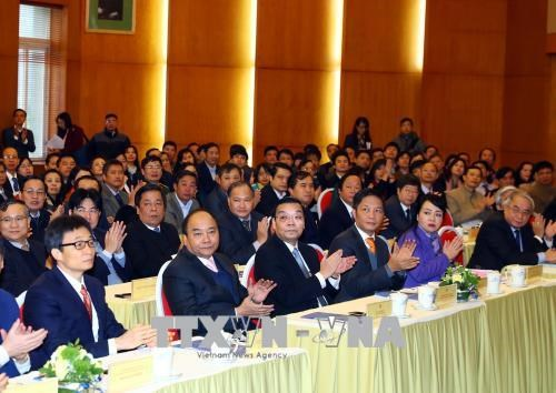 政府总理阮春福出席科技部工作总结会议 hinh anh 1