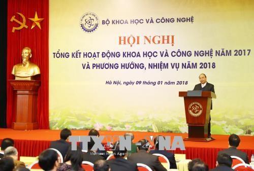 政府总理阮春福出席科技部工作总结会议 hinh anh 3