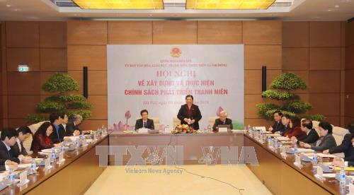 越南注重青年发展政策 hinh anh 1