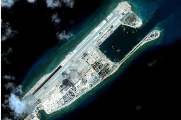 美国指责中国在东海进行军事化行动 hinh anh 1