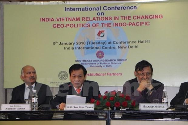 越南与印度努力维护全面战略伙伴关系 hinh anh 1