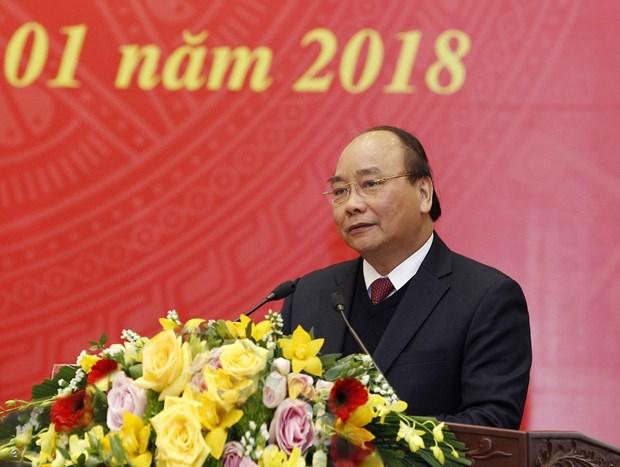阮春福总理:民运工作有助于凝聚力量 为国家发展做出积极贡献 hinh anh 1