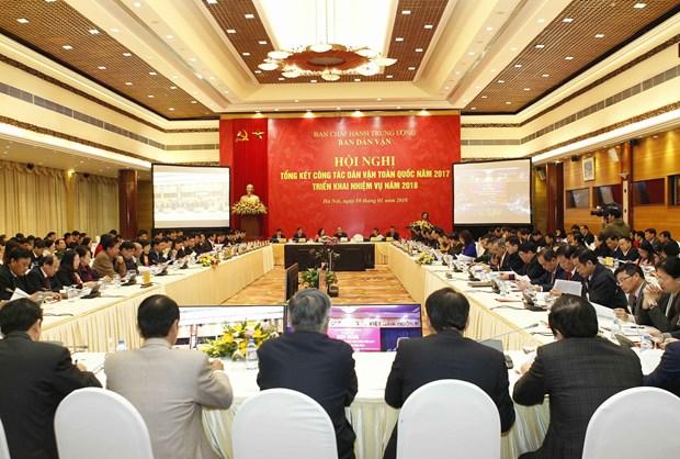 阮春福总理:民运工作有助于凝聚力量 为国家发展做出积极贡献 hinh anh 2