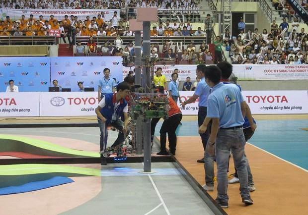 2018年亚太大学生机器人大赛即将在越南宁平省开赛 hinh anh 1