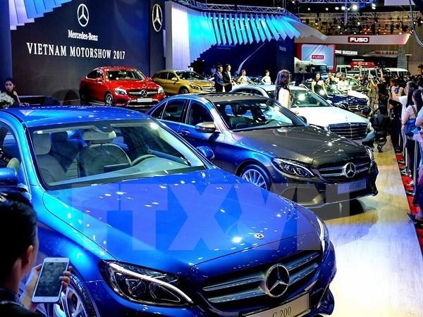 2017年越南汽车销量达27万多辆 hinh anh 1